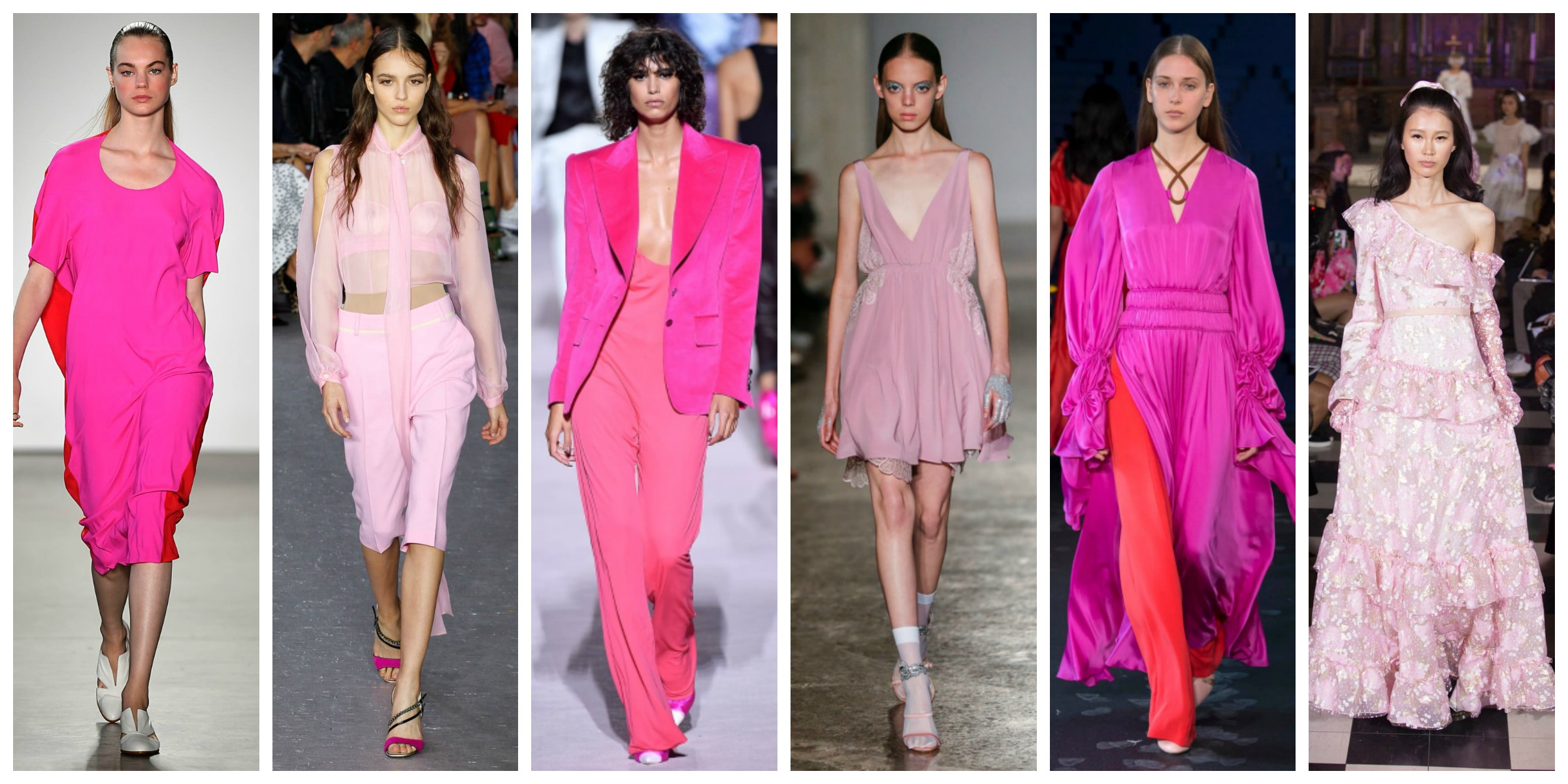 ba35bb613f8ce5 Pink is definitely Summer 2018 hot colour! From NYC to paris